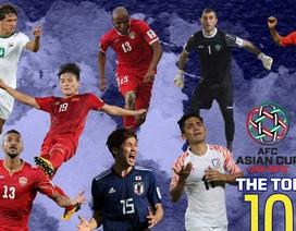 10 cầu thủ xuất sắc nhất lượt 1 vòng bảng Asian Cup: Chỉ có 1 ngôi sao Việt Nam