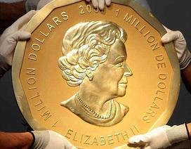 Đức xử nghi phạm ăn trộm đồng xu vàng nặng 100kg