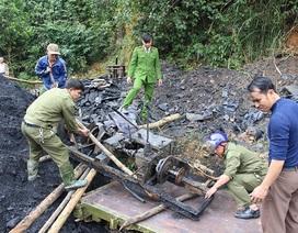 Công an tập trung làm rõ nhóm đối tượng khai thác than thổ phỉ