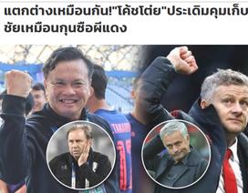 Báo Thái Lan nổ tung trời, ví đội nhà như… Man Utd