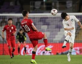 """Hàn Quốc 1-0 Kyrgyzstan: Giành vé đi tiếp sau trận cầu """"ma ám"""""""