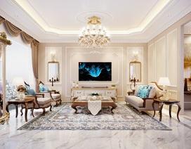 3 tuyệt chiêu làm nổi bật vẻ sang trọng của phòng khách hiện đại