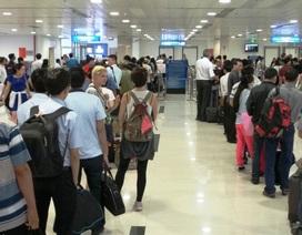 Dịp Tết, hành khách đi máy bay nên đến sân bay sớm 2 - 3 tiếng