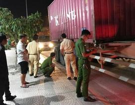Liên tiếp 2 vụ xe container tông chết người rồi bỏ trốn