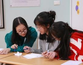 Học sinh phổ thông thi tranh biện