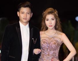 Á hậu Thanh Tuyền xuất hiện lộng lẫy bên chồng
