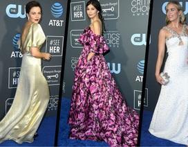 Những bộ váy đẹp và xấu nhất trên thảm đỏ Critics' Choice Awards