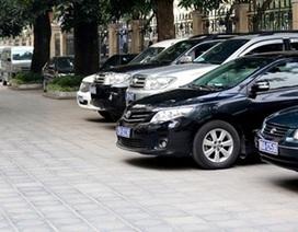Duy trì định mức xe công phục vụ lãnh đạo
