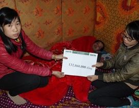 Hơn 132 triệu đồng đến với gia đình em Mai Thị Chiên