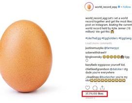 """Bức ảnh quả trứng bất ngờ trở thành... hình ảnh được nhiều """"like"""" nhất trên Instagram"""