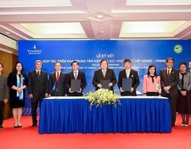 Vinmec hợp tác với bệnh viện y tế hàng đầu Nhật Bản