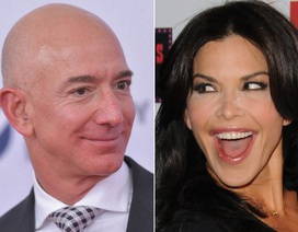 """Tỷ phú Amazon """"phát cuồng"""" vì tình mới"""