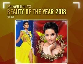 """Chuyên trang sắc đẹp Quốc tế chọn H'Hen Niê là """"Mỹ nhân của năm 2018"""""""