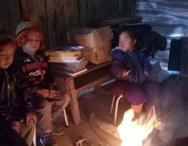 Xót xa hình ảnh học sinh mầm non ở vùng cao đốt lửa ngồi học cho đỡ rét
