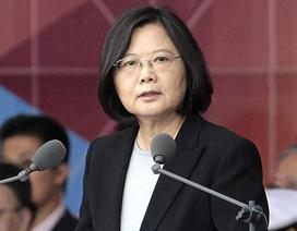 """Đài Loan tuyên bố không """"khuất phục"""" trước sức ép của Trung Quốc"""