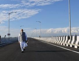 Ấn Độ xây 44 tuyến đường giáp Trung Quốc để tăng cường phòng phủ