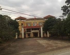 Bảo vệ UBND huyện tử vong bất thường tại cơ quan