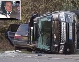 Chồng Nữ hoàng Anh bị sốc nặng sau tai nạn xe hơi