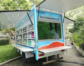 """Khám phá mô hình """"xe tải giáo dục"""" độc đáo nhất Việt Nam"""