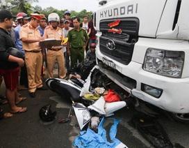 Phó Thủ tướng yêu cầu tìm giải pháp ngăn các vụ tai nạn nghiêm trọng do xe container gây ra