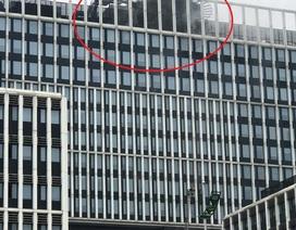 Hà Nội: Cháy phòng làm việc tại trụ sở Bộ Công an