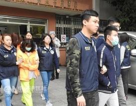 """Đài Loan tìm thấy 24 du khách Việt """"mất tích"""""""