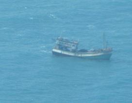 8 thuyền viên đang gặp nạn trong vùng biển ảnh hưởng của bão số 1