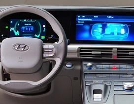 Hyundai Nexo dùng pin nhiên liệu hydro đầu tiên lăn bánh