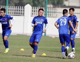 Trọng Hoàng và Văn Toàn trở lại, đội tuyển Việt Nam sẵn sàng sang UAE
