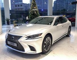 Lexus LS 500 khởi điểm từ 7,08 tỉ đồng