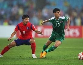 Iraq buộc phải loại trụ cột trước trận gặp đội tuyển Việt Nam