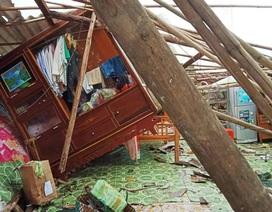 Cảnh tan hoang ở vùng ven biển Bạc Liêu sau lốc xoáy, mưa lớn