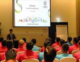 HLV Park Hang Seo yêu cầu tuyển Việt Nam phải tôn trọng trọng tài