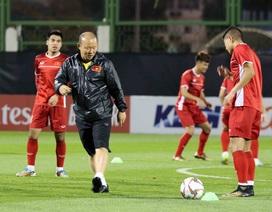 """Đội tuyển Việt Nam hứng khởi """"luyện công"""" chờ đấu Iran, Iraq"""