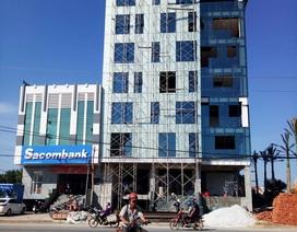 """Quảng Bình: """"Trảm"""" thẳng tòa nhà ngang nhiên xây vượt tầng!"""