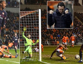 "Blackpool 0-3 Arsenal: Đêm diễn của ""sao trẻ"" Willock"
