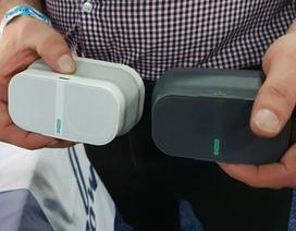 """CES 2019: Ngắm mẫu loa di động có thể """"thò thụt"""" độc đáo của Pow Audio"""