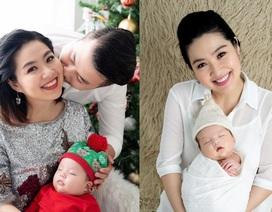 Mới sinh con 3 tháng Lê Khánh đã trở lại màn ảnh