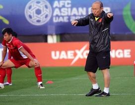 HLV Park Hang Seo chính thức chốt danh sách 23 cầu thủ dự Asian Cup 2019