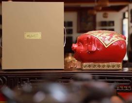 Đua nhau sắm đồ tết linh vật lợn vàng giá tiền triệu