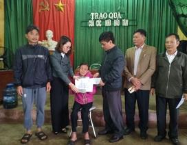 Bạn đọc giúp đỡ gia đình bà Vũ Thị Tâm gần 60 triệu đồng
