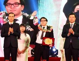Nam sinh 2 lần giành HCV Olympic Hoá học quốc tế là Gương mặt trẻ Thủ đô 2018