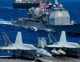 Tàu sân bay Mỹ sẵn sàng đối phó mối đe dọa từ Trung Quốc