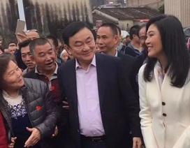 """Anh em cựu thủ tướng Thái Thaksin - Yingluck về thăm """"quê cha"""" ở Trung Quốc"""