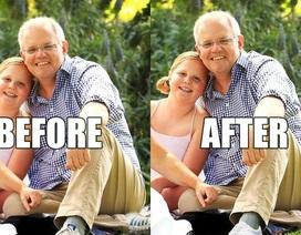 """Ảnh chụp Thủ tướng Australia gây """"bão"""" mạng vì chỉnh sửa quá đà"""
