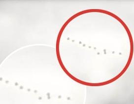 Hàng loạt vật thể bay kì lạ xuất hiện trên bầu trời nước Mỹ