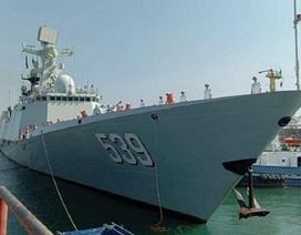3 tàu chiến Trung Quốc cập cảng Campuchia giữa tin đồn xây căn cứ hải quân