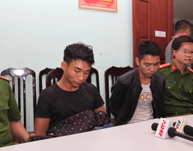Di lý 2 nghi phạm sát hại nam sinh chạy Grab về tới Hà Nội