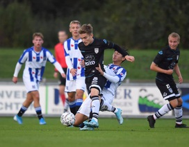 Văn Hậu đá chính, đội trẻ Heerenveen hòa trận thứ 2 liên tiếp
