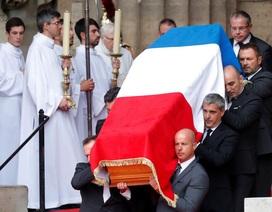 Lãnh đạo thế giới tiễn biệt cố Tổng thống Pháp Jacques Chirac